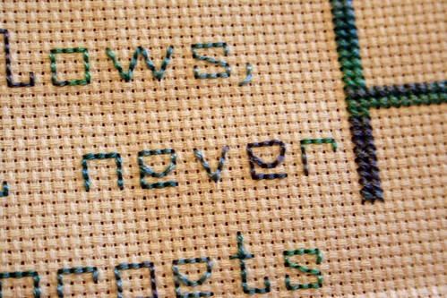 Cross Stitch WIP