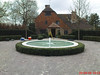 Raised Circular Pool with Hedge (Fairwater) Tags: formal ponds fairwater rills fairwaterformalpondsandrills