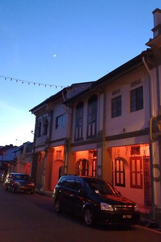 Shop houses, Melaka Malaysia