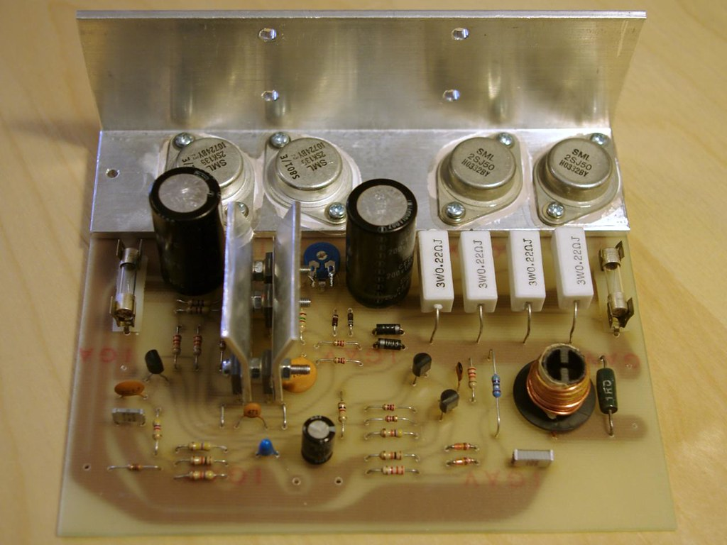 The Worlds Best Photos Of Amplifier And Mosfet Flickr Hive Mind 25w Hifi Audio With Pcb Top Slartyb52 Tags Power Stereo