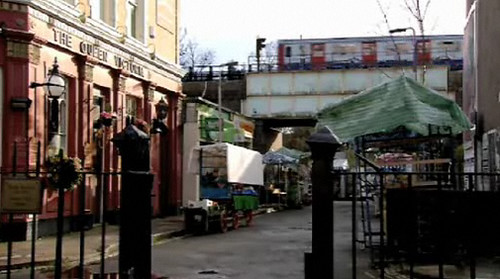CGI Tube on EastEnders