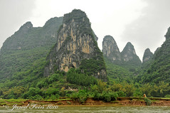 The Karst Mountains (SewerDoc (4 million views)) Tags: china mountains nature river landscape liriver scenery asia guilin surreal guangxiprovince xingping riverli karstmountains anawesomeshot sewerdoc ©jaredfein yangdo