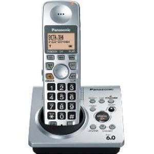 Panasonic KX-TG1031S DECT 6.0 Expandable Cordless Phone