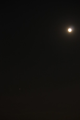 Overexposed to just see Jupiter