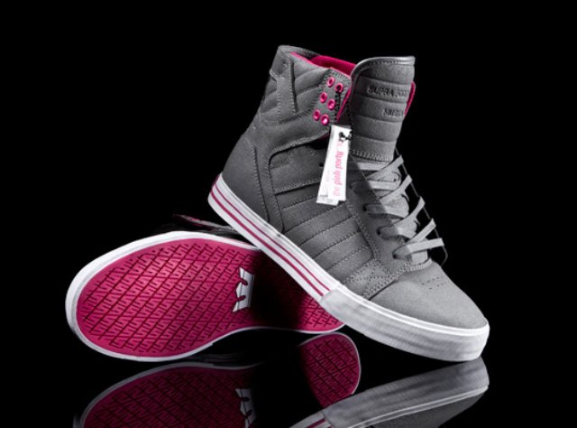 supra-pink-party-skytop-sneaker-front