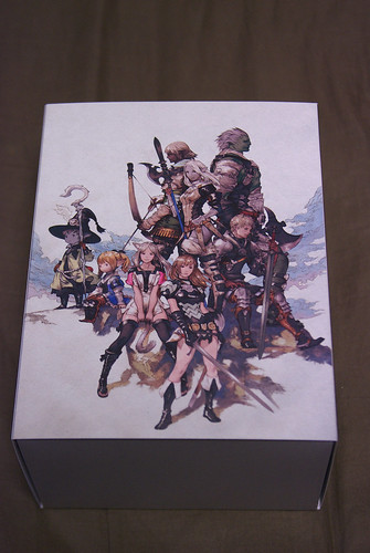 FINAL FANTASY XIV Collector's Edition Package back side