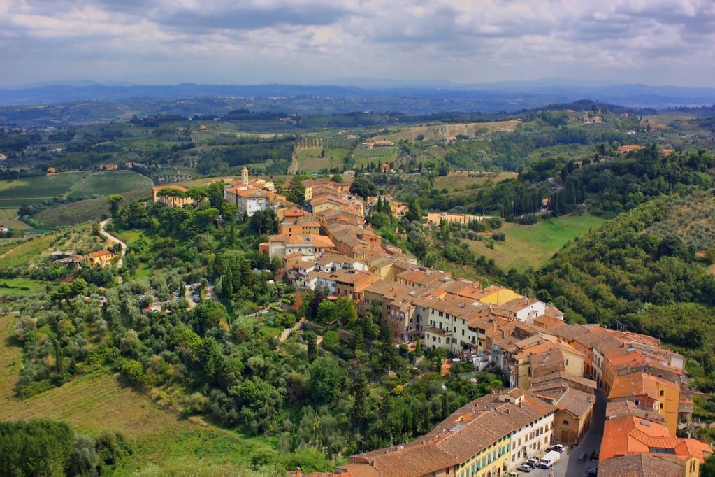San Miniato from the Barbarossa Tower