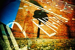 The return of Viv - this time with added exposure capabilities! (captainbonobo) Tags: film 35mm xpro lomography crossprocessed brighton kodak doubleexposure toycamera lofi elitechrome vivitar uws plasticlens ultrawideslim ebx modifiedcamera captainbonobo