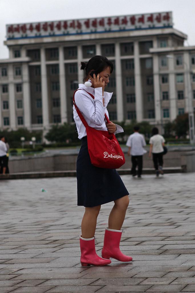 North Korea - Mobile phones