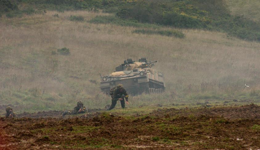 Warrior Salisbury Plain Training Area 13 Oct 2005