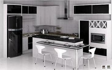 fotos de cozinhas moduladas pequenas