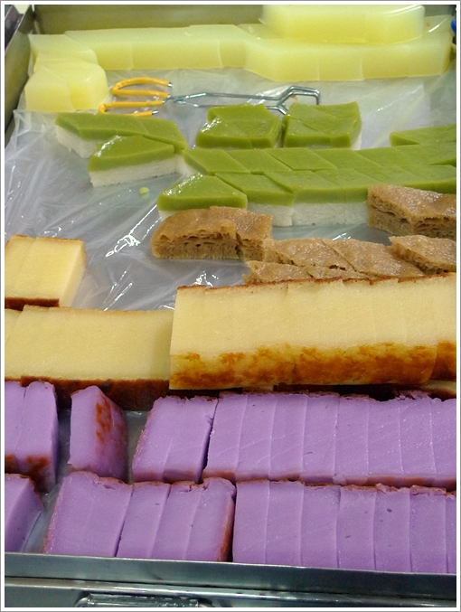 Colourful Array of Nyonya Kuih