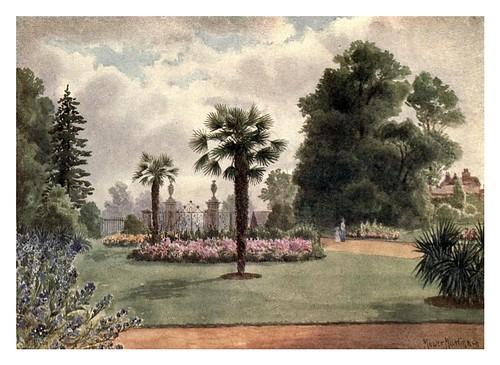 001-Palmeras en la puerta principa-Kew gardens 1908- Martin T. Mowerl