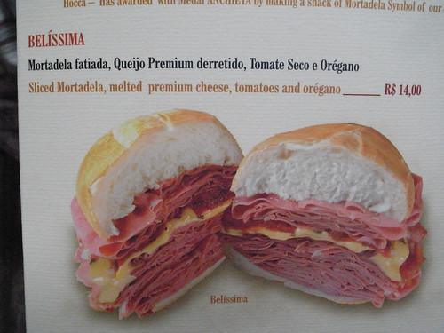 Mortadella Sandwich Mortadella Sandwich Aptly