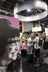 Electra booth at Interbike