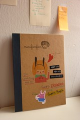 A Collage Book (Minifanfan Illustration) Tags: cute rabbit collage illustration drawing memory characters