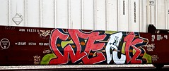 "Weak ""Burnin em Down"" (mightyquinninwky) Tags: railroad train graffiti character smoke tag graf tracks railway tags tagged railcar cig taylor rails week graff graphiti freight weak sym ics trainart juce keso fr8 aok flatcar railart stacker intermodal rfa spraypaintart freightcar highcube freightart exceedsplateh paintedrailcar taggedrailcar burninemdown 11223344556677 carfireonflickr charactersformyspacestation"