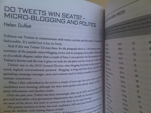 It's arrived: I are an author! (Total Politics Guide to Political Blogging in the UK 2010/2011)