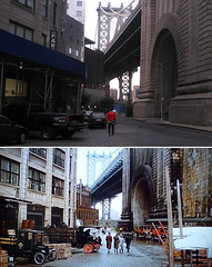 Once Upon A Time In America - Brooklyn Bridge (GazTruman) Tags: new york city nyc bridge usa newyork film brooklyn america movie time manhattan manhattanbridge once filming upon locations reinactment onceuponatimeinamerica filminglocations ouatim