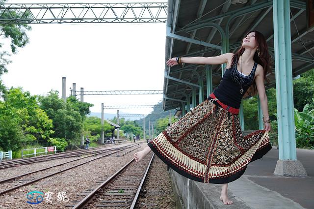 安妮 泰安車站外拍