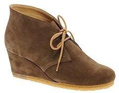 Clark's wedge desert boot