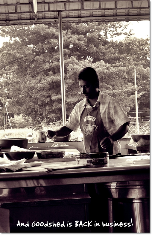 Roti Canai Maker @ Goodshed