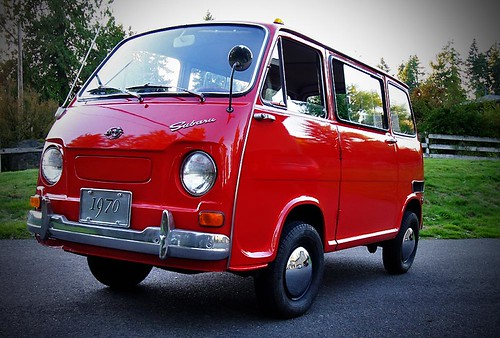 Subaru 360 Van. My 1970 Subaru 360 Van