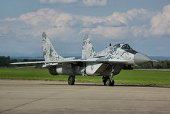 Mikoyan-Gurevich MiG-29AS (Tim Beach) Tags: force czech air international slovakia fest 2010 slovak mig29 hradec 0619 ciaf mikoyangurevich kralove mig29as