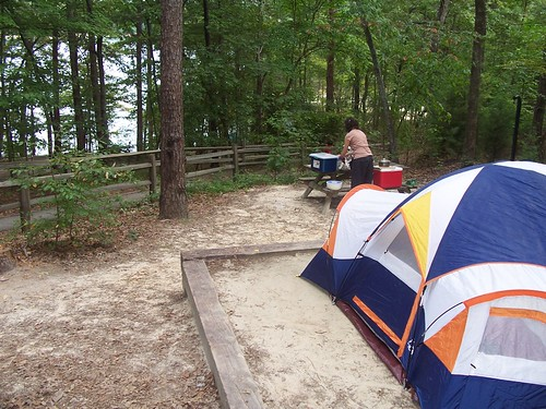 our home at devil's fork state park
