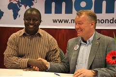 Signing of the Mobile Monday Kenya chapter