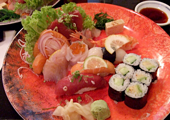 Sushi & Sashimi moriawase