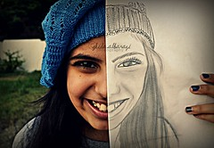 You complete me. (Ghida albarazi) Tags: girls drawing complete completing