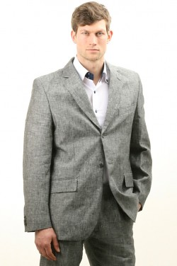 Costume en Lin Gris (Dymastyle) Tags  costumes en gris costume beige noir  bureau 3d5089381cc