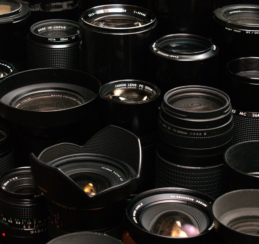 Collection of SLR Lenses