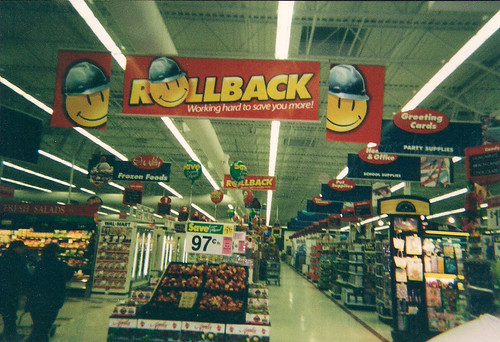 Wal-Mart - Fort Dodge, Iowa - Grocery Entrance Action Alley in 2002