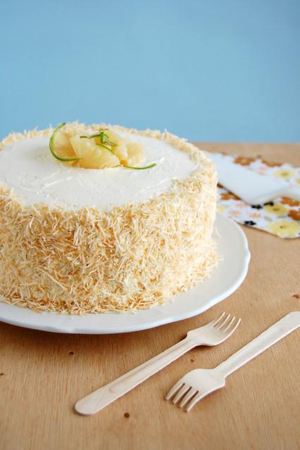 Piña Colada cake / Bolo Piña Colada