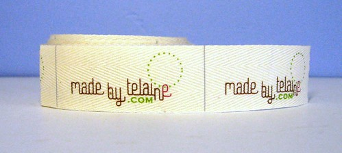 Made by Telaine label