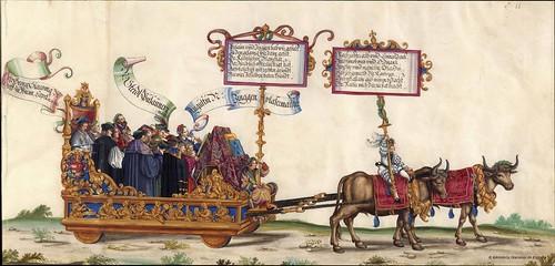 Triunfo del Emperador Maximiliano I (11)