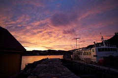 Lets take the boat.. (einarsoyland) Tags: pink sunset norway zeiss canon boat carl ze fjell carlzeiss sotra solsvik landro gotnes canon5dmarkii distagon2128ze httpohohyeahcom