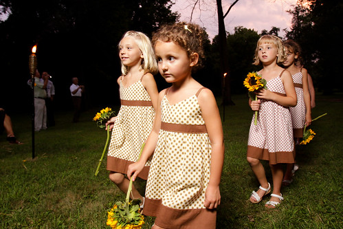 Beautiful flowergirls!