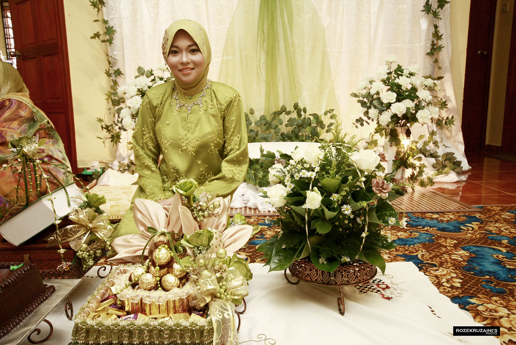 Pertunangan : Farhana & Fizal