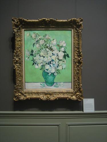 Roses, 1890, Vincent van Gogh _8389