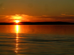 Sunset on Lake Balaton (elisabatiz) Tags: sunset lake balaton