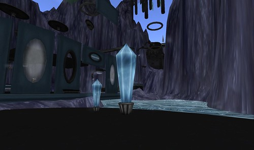 crystals teleport for exploration