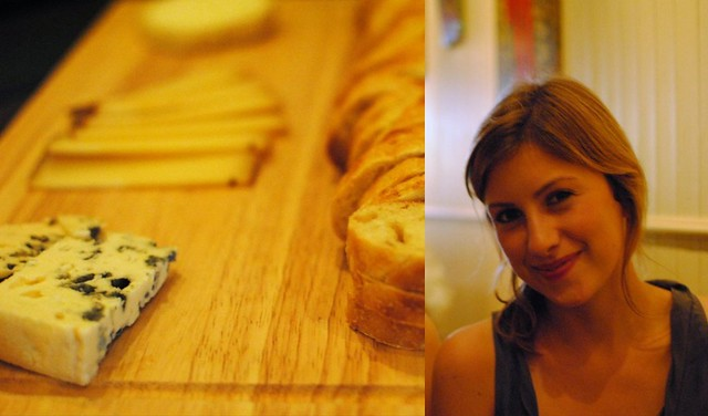 roquefort, cheese-filled happy me