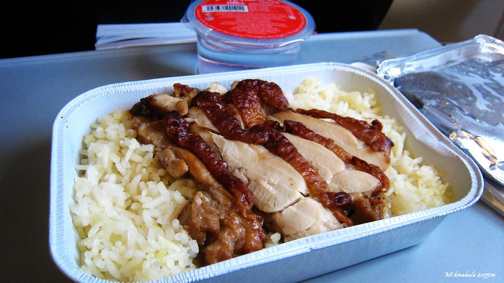 飛機餐 海南雞飯