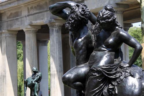 Kentaur und Nymphe