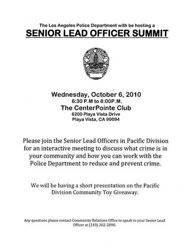 Officer Summit