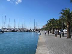 Hafengebiet von Palma