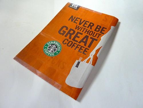 Starbucks like Muji。 手帳